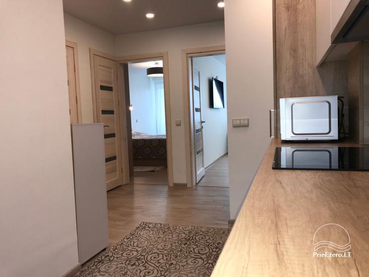 Dviejų ir trijų miegamųjų apartamentai Crystal Apartment Vytauto g., Druskininkuose - 32