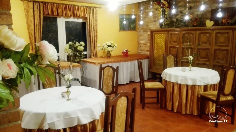 Alės Podėnienės Sodyba Biržų rajone - šventėms, nakvynei ir poilsiui,seminarams,  susitikimams - 13