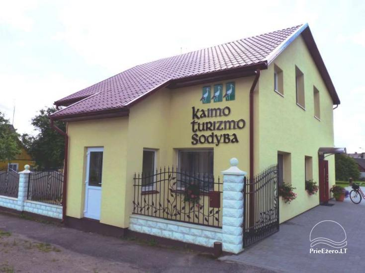 Kaimo turizmo sodyba prie Raudonės pilies, šalia Nemuno - 6