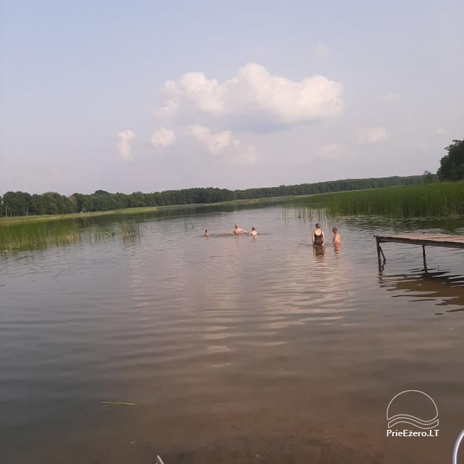 Kardoko sodyba su pirtimi prie Zapsio ežero - 7