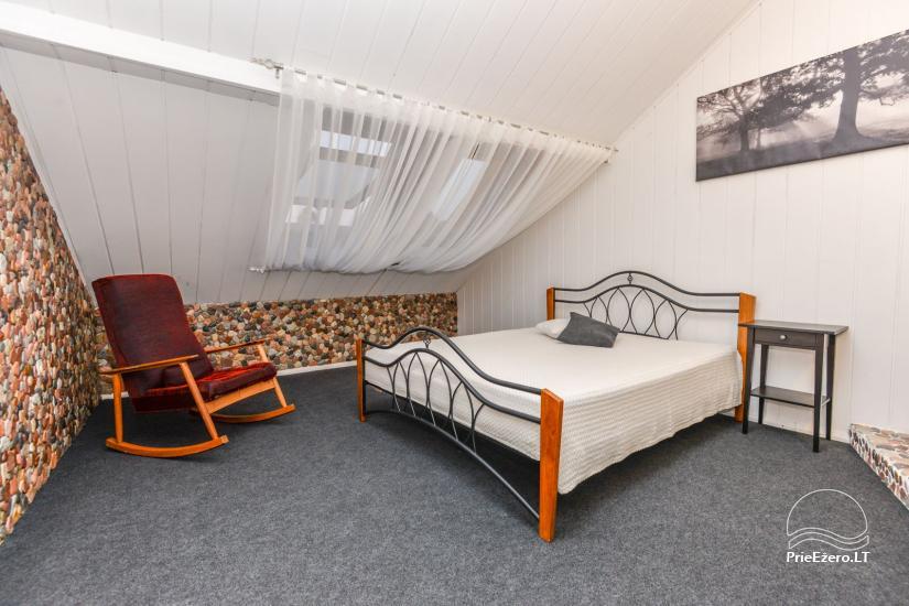 Kambariai Birštono centre su židiniu - 4
