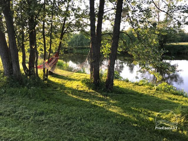 GRIKUCIO sodyba ant Merkio upės kranto, stovyklavietė su pirtim - 19