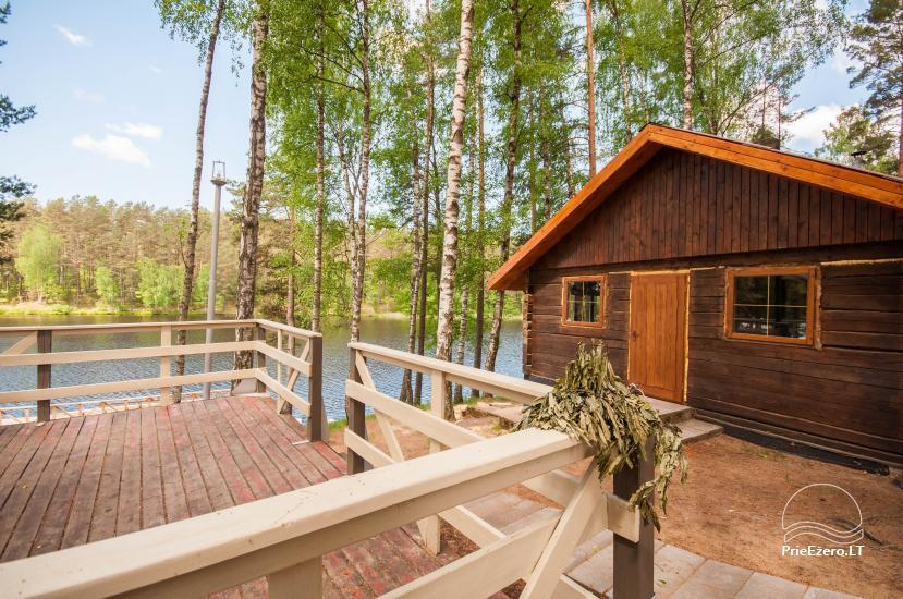 Poilsio namai 40 km nuo Vilniaus centro, prie Pailgio ežero - 4