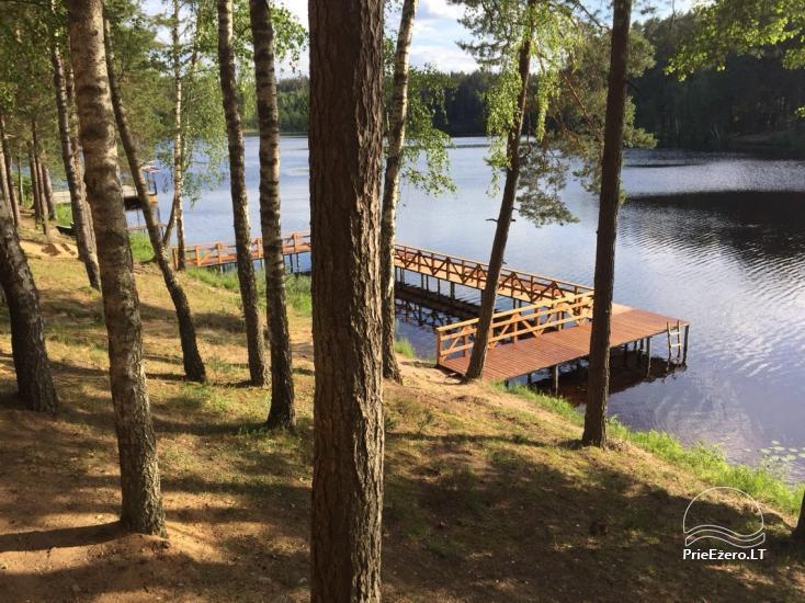 Poilsio namai 40 km nuo Vilniaus centro, prie Pailgio ežero - 9