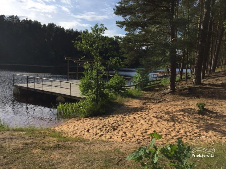 Poilsio namai 40 km nuo Vilniaus centro, prie Pailgio ežero - 11