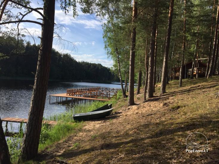 Poilsio namai 40 km nuo Vilniaus centro, prie Pailgio ežero - 13