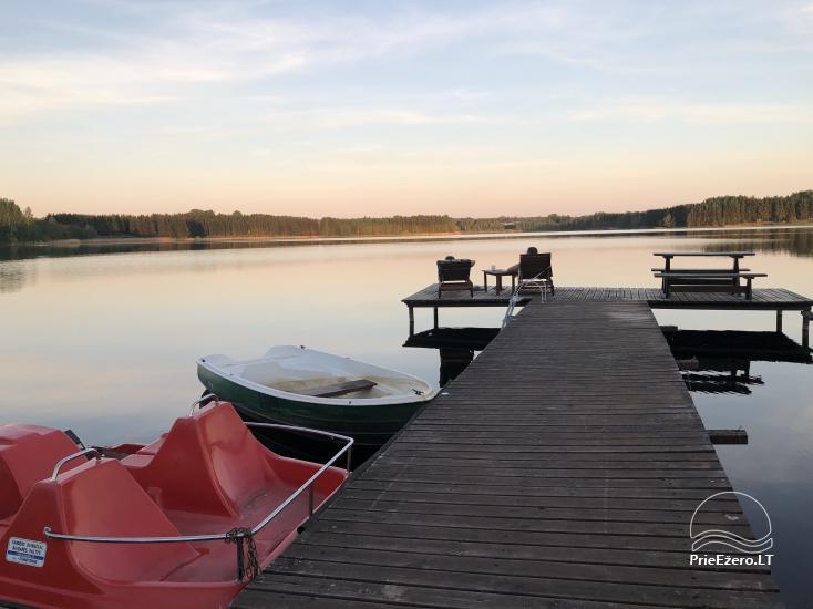 """Namelis su pirtimi ant ežero kranto """"Autentiškas poilsis tik Tau"""" - 6"""