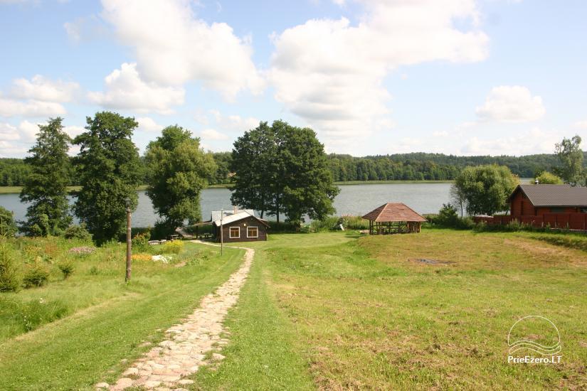 Jadvygos sodyba ant ežero kranto, Trakų raj. - 3