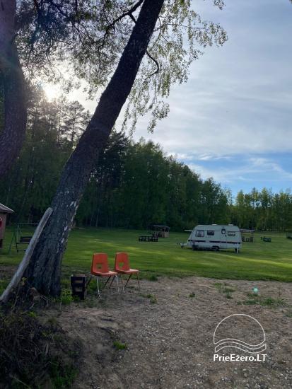 Juodakampio stovyklavietė ant Siesarties ežero kranto - 14
