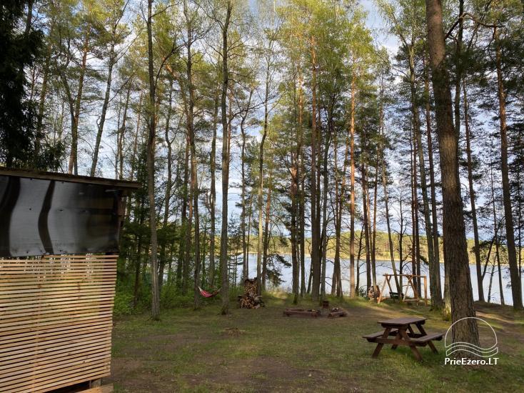 Juodakampio stovyklavietė ant Siesarties ežero kranto - 13