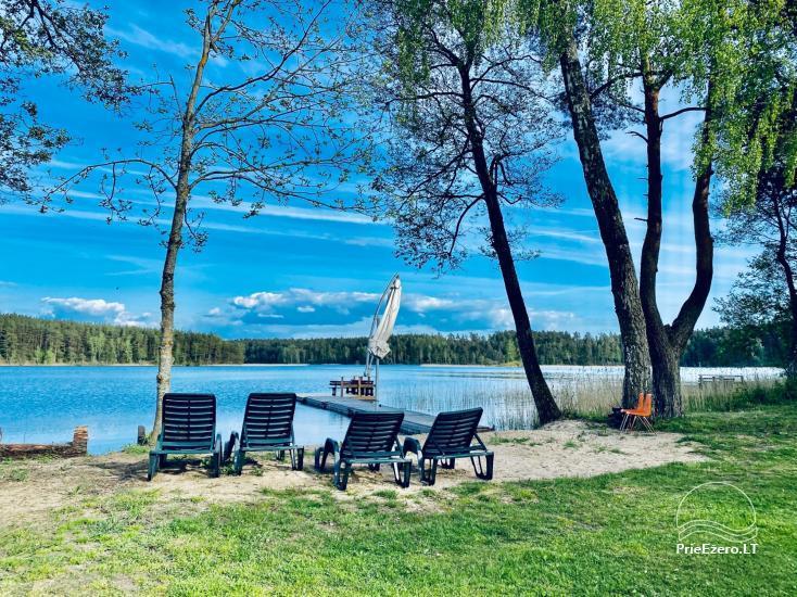 Juodakampio stovyklavietė ant Siesarties ežero kranto - 3