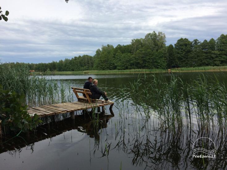 Stovyklavietė/poilsiavietė Dulga, prie Dulgo ežero, šalia Druskininkų - 7