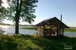 Sodybos nuoma Jurbarko rajone su nedideliu ežeru kieme - 9