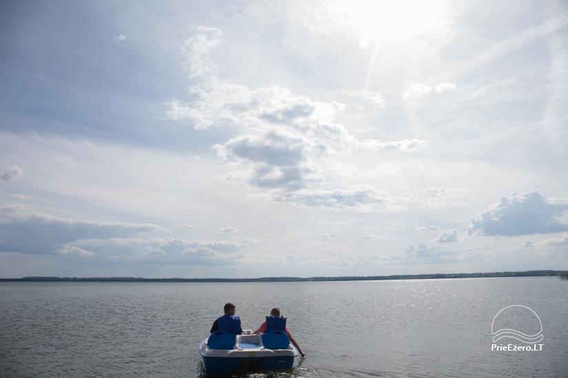 Dusios krantas - nameliai šeimos poilsiui prie Dusios ežero - 13