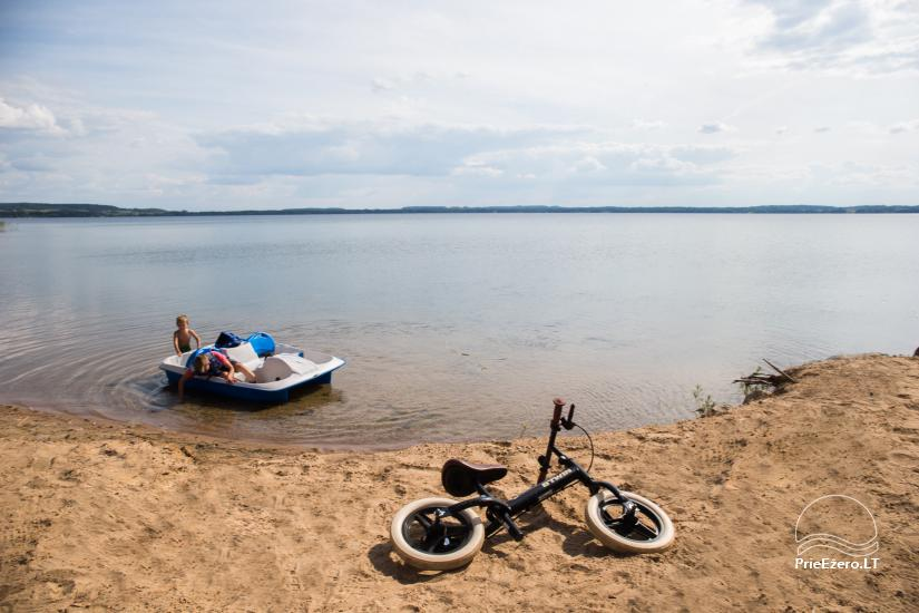Dusios krantas - nameliai šeimos poilsiui prie Dusios ežero - 14