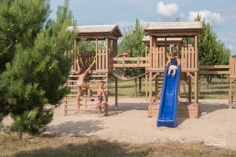 Dusios krantas - nameliai šeimos poilsiui prie Dusios ežero - 12