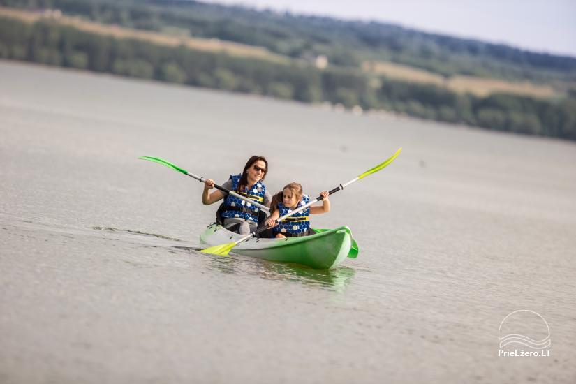Dusios krantas - nameliai šeimos poilsiui prie Dusios ežero - 21