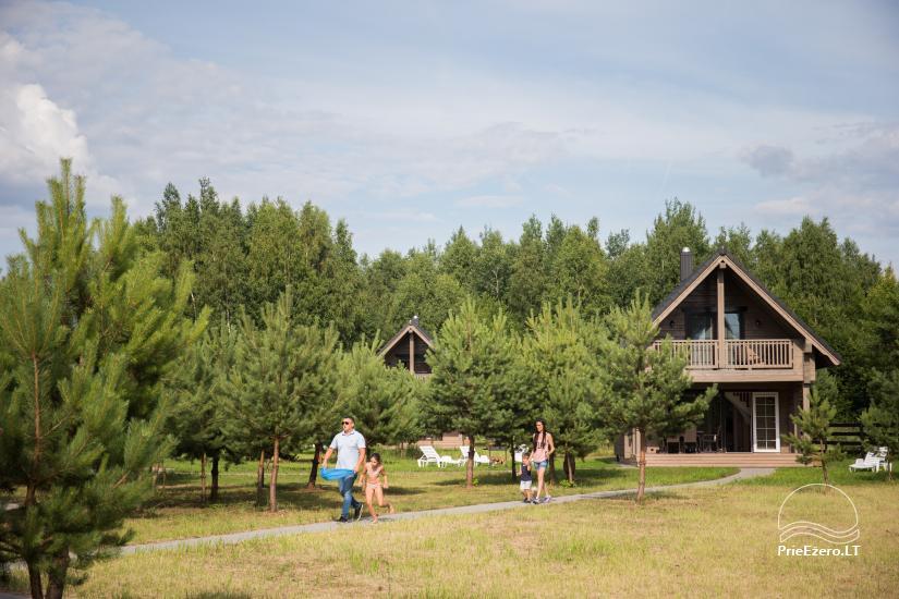Dusios krantas - nameliai šeimos poilsiui prie Dusios ežero - 25