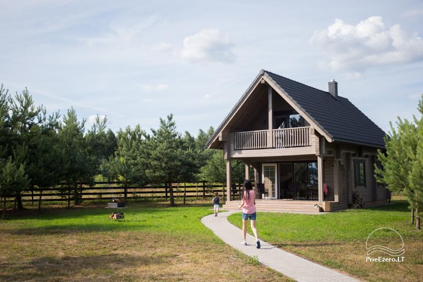 Dusios krantas - nameliai šeimos poilsiui prie Dusios ežero - 36