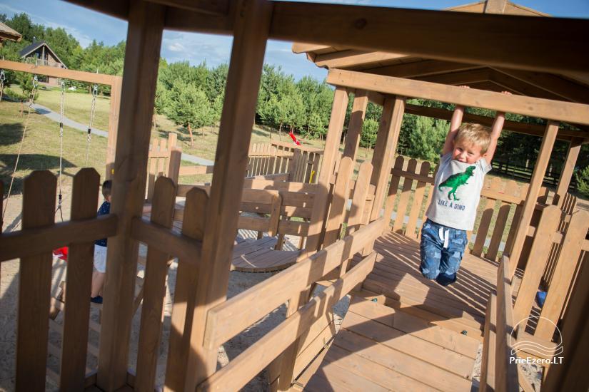 Dusios krantas - nameliai šeimos poilsiui prie Dusios ežero - 18