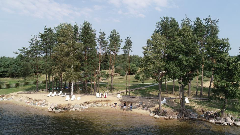Dusios krantas - nameliai šeimos poilsiui prie Dusios ežero - 17