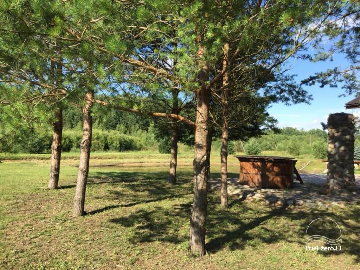 Jauki sodyba miškų apsuptyje šventėms, poilsiui su šeima ar draugais - 14
