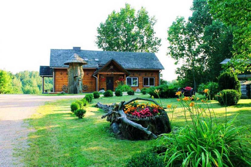 Sodyba Svajonių Dvaras prie Keršio ežero Anykščių rajone - 1