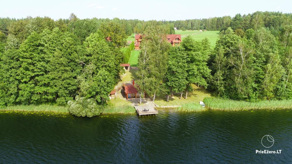"""Sodyba """"Vila Baluošas"""" ant ežero kranto netoli Vilniaus poilsiui, vestuvėms ir kitoms šventėms, renginiams - 4"""