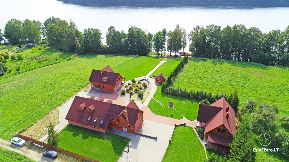 """Sodyba """"Vila Baluošas"""" ant ežero kranto netoli Vilniaus poilsiui, vestuvėms ir kitoms šventėms, renginiams - 2"""