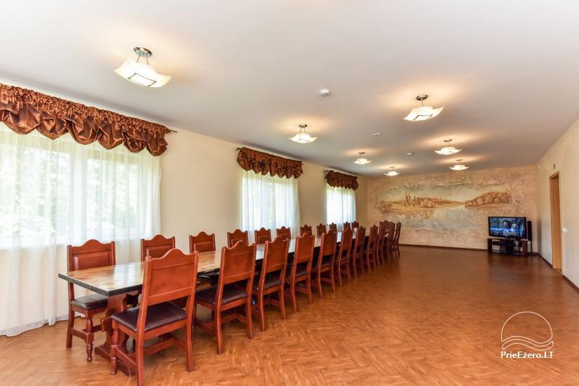 Suraučių svečių namai Aukštadvaryje – kambariai, salė, pirtis, baseinas – šventės ir poilsis - 18