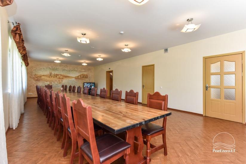 Suraučių svečių namai Aukštadvaryje – kambariai, salė, pirtis, baseinas – šventės ir poilsis - 19