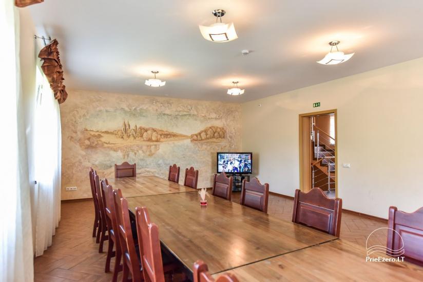 Suraučių svečių namai Aukštadvaryje – kambariai, salė, pirtis, baseinas – šventės ir poilsis - 20