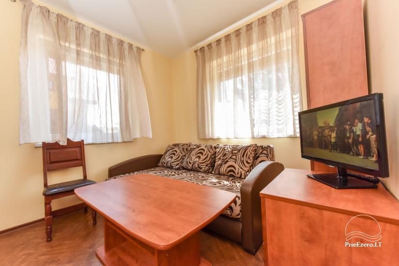 Suraučių svečių namai Aukštadvaryje – kambariai, salė, pirtis, baseinas – šventės ir poilsis - 27