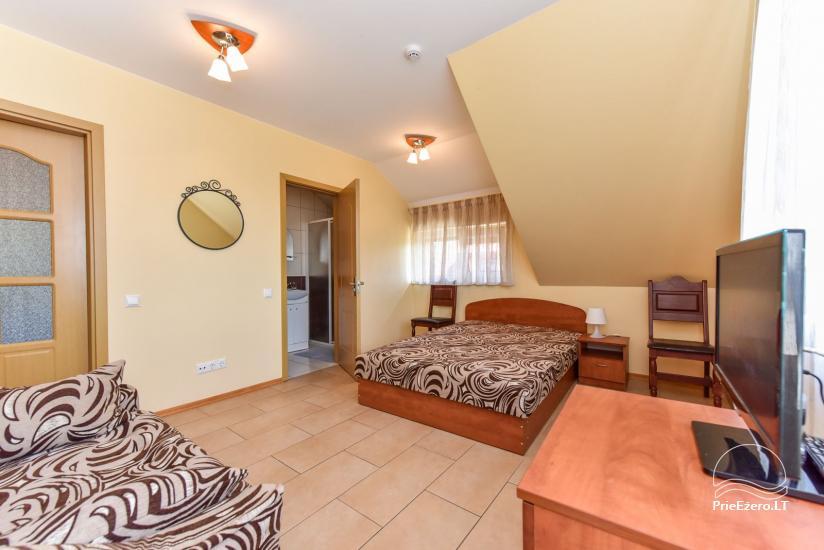 Suraučių svečių namai Aukštadvaryje – kambariai, salė, pirtis, baseinas – šventės ir poilsis - 30