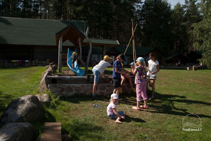 Sodyba Labanoro Dūda Švenčionių rajone ant ežero kranto - 27