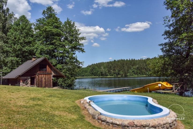 Sodyba Labanoro Dūda Švenčionių rajone ant ežero kranto - 18