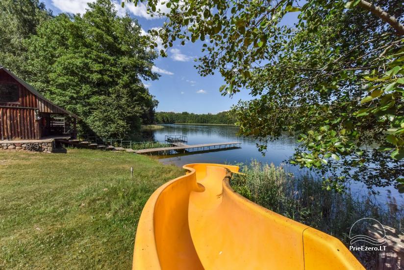 Sodyba Labanoro Dūda Švenčionių rajone ant ežero kranto - 19