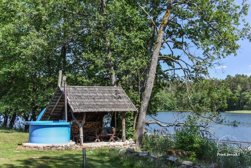 Sodyba Labanoro Dūda Švenčionių rajone ant ežero kranto - 21