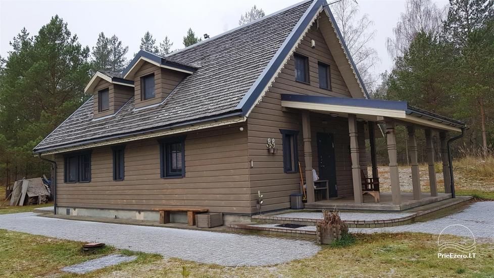 Vilos namas ir mini SPA miške, Lynežerio kaime - 2