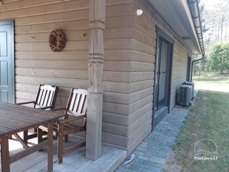 Vilos namas ir mini SPA miške, Lynežerio kaime - 4