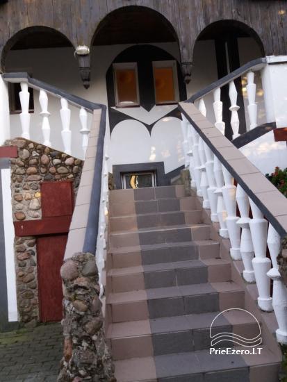 Pobūvių salės, pirties, kambarių nuoma Ventėje - 3