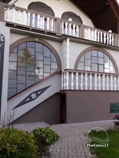 Pobūvių salės, pirties, kambarių nuoma Ventėje - 1