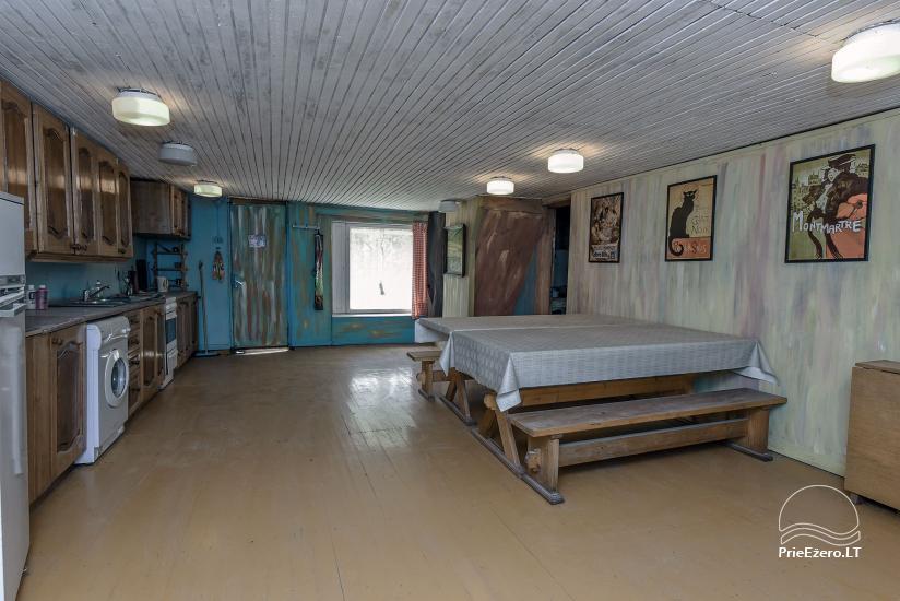 """Kambarių nuoma – Sodyba """"VARSBERGI"""" 100 m iki Papės ežero - 26"""