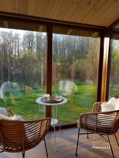 NerDas villa SPA & Resort Zarasų rajone - ramiam, romantiškam poros poilsiui, SPA - 31
