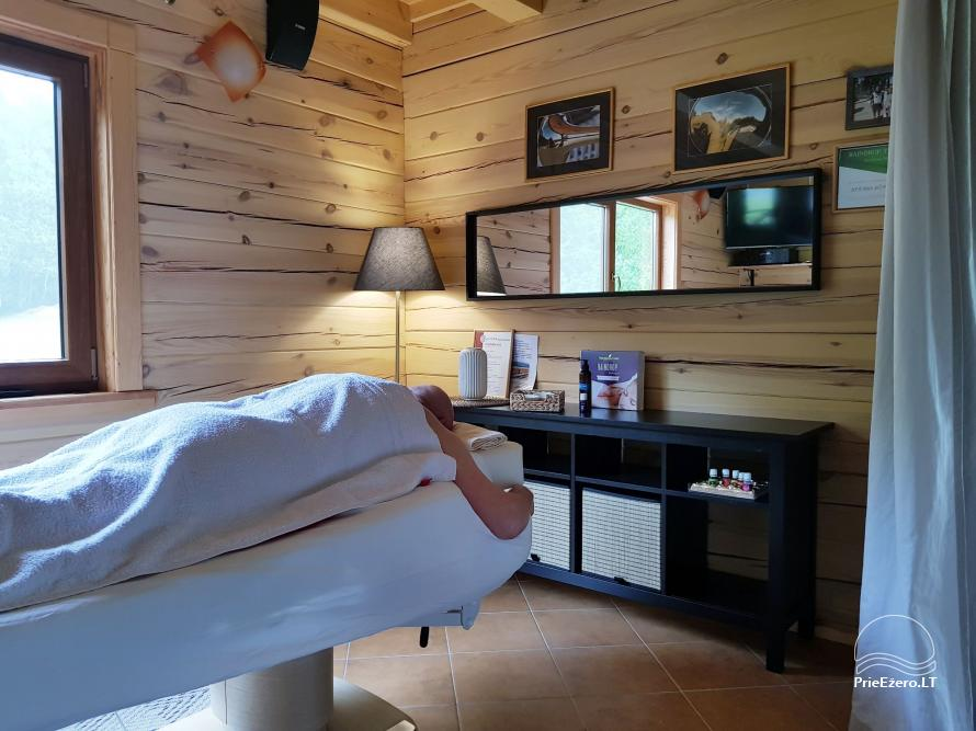 NerDas villa SPA & Resort Zarasų rajone - ramiam, romantiškam poros poilsiui, SPA - 32