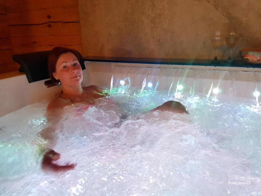 NerDas villa SPA & Resort Zarasų rajone - ramiam, romantiškam poros poilsiui, SPA - 33