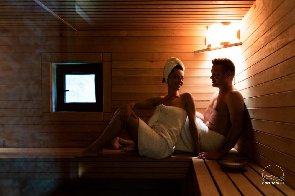 NerDas villa SPA & Resort Zarasų rajone - ramiam, romantiškam poros poilsiui, SPA - 5