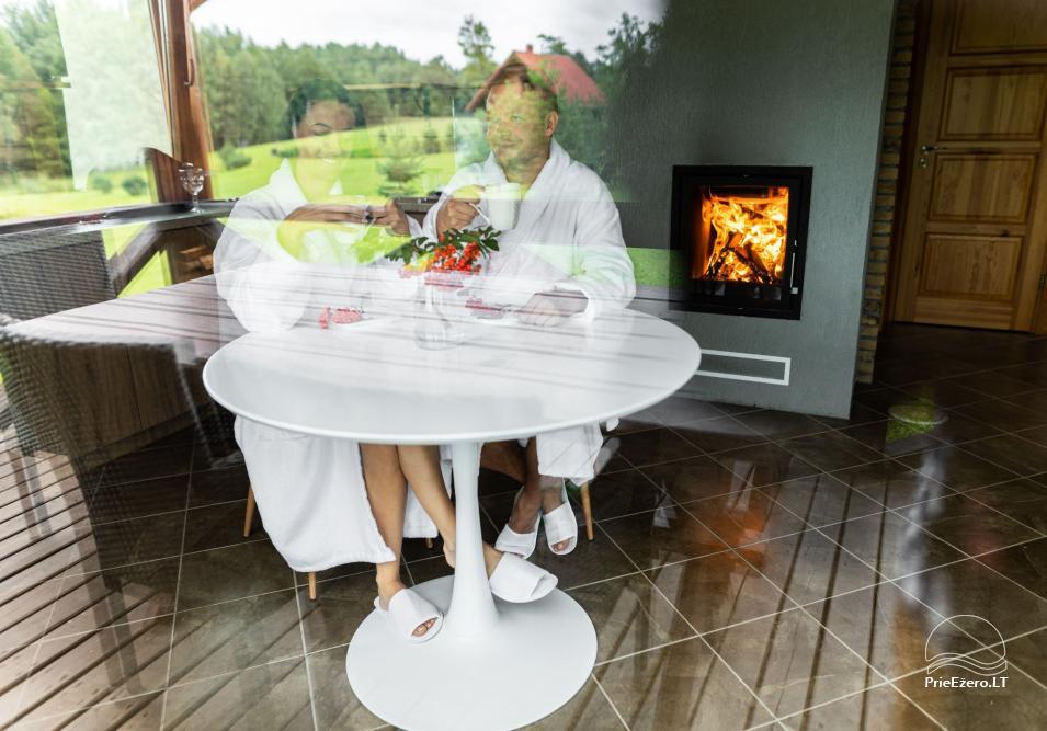 NerDas villa SPA & Resort Zarasų rajone - ramiam, romantiškam poros poilsiui, SPA - 13
