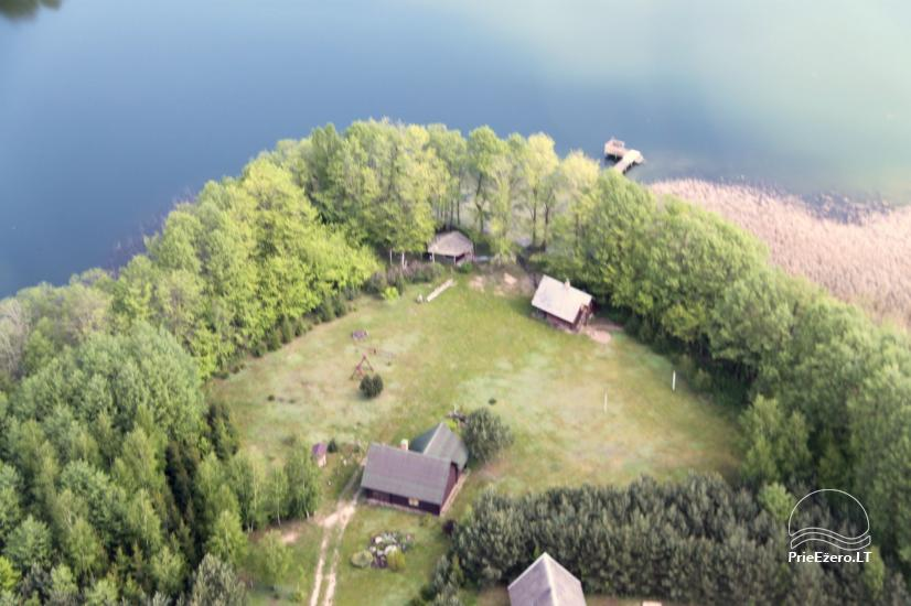 Sodyba ant Galsto ežero kranto Lazdijų rajone - 1