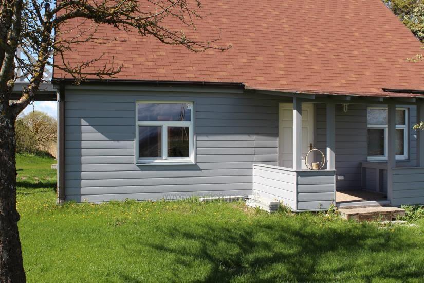 Svečių namai ramioje vietoje ant Papės ežero kranto, šalia jūros - Lejnieki - 4